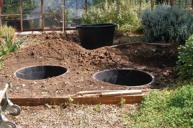 L 39 am nagement simple facile et rapide d 39 un bassin miniature - Petit bassin de jardin en plastique nanterre ...