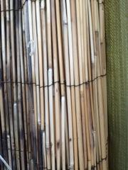 Bambou pour recouvrir le bassin protégé du froid