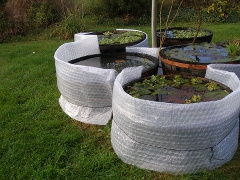 Bassin preforme hors sol for Coque bassin poisson