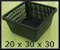 panier adapté pour plante aquatique